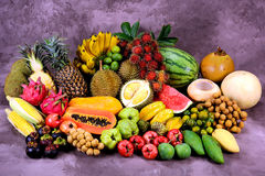 Free Tropical Fruits Royalty Free Stock Image - 26664766