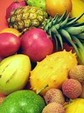 Tropical Fruits And Vegetables Royalty Free Stock Photography
