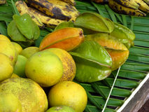Tropical fruits Stock Photo