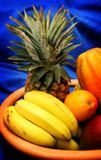 Tropical fruits IV. A bunch of tropical fruits Royalty Free Stock Photos
