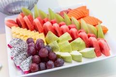 Tropical fruits selection Royalty Free Stock Photos