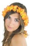 Tropical girl Royalty Free Stock Image