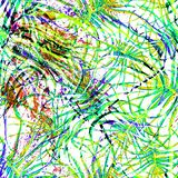 Tropical Green Seamless Pattern. stock illustration