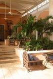 Tropical hall Stock Image