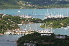 Tropical Harbor Stock Photography