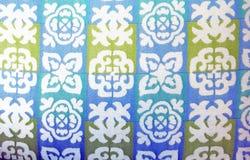 Tropical Hawaii Print Upholstery Royalty Free Stock Photos