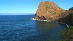 Tropical Hawaiian Bay. Time Lapse of Bay in Hawaii stock video footage