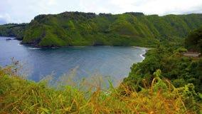 Tropical Hawaiian Bay. Time Lapse of Bay in Hawaii stock video