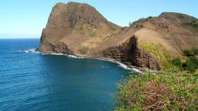 Tropical Hawaiian Bay. Time Lapse of Bay in Hawaii stock footage