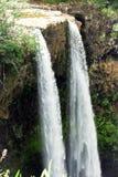 Tropical Hawaiian Waterfall stock image