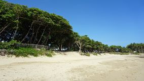 Tropical hideaway beach Royalty Free Stock Photography