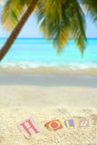 Tropical hola Royalty Free Stock Photos