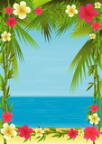 Tropical Holiday Royalty Free Stock Image