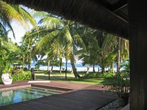 Tropical holiday resort. Bohol in the Philippines Royalty Free Stock Photography