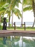 Tropical holiday resort Royalty Free Stock Image