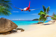Tropical holidays Stock Image