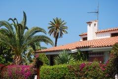 Tropical home Stock Image