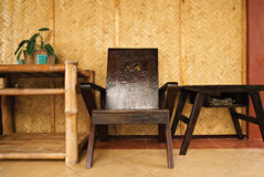Tropical Home Interior Stock Images
