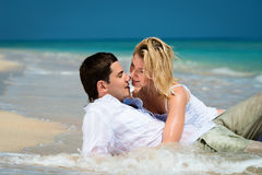 Tropical honeymoon Stock Image