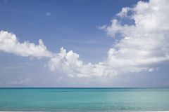 Tropical Horizon Royalty Free Stock Images