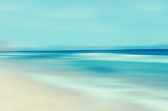 Tropical horizon abstract background Royalty Free Stock Images