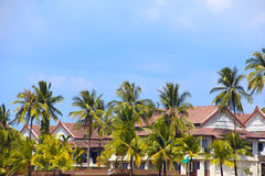 Tropical hotel Royalty Free Stock Photography