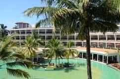Tropical hotel. In Sri Lanka Royalty Free Stock Photography