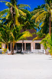 Tropical house on the beach of bantayan island, Santafe philippines, 08.11.2016 Stock Photo
