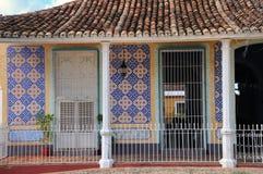 Tropical House Facade Stock Photography