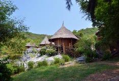 Tropical house at Si Chang island, Chonburi, Thailand. Stock Photo