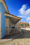 Tropical house - Trinidad, cuba Stock Photos