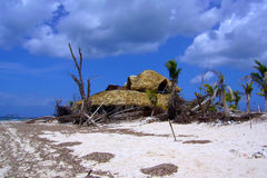 After tropical hurricane Royalty Free Stock Image