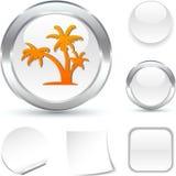 Tropical  icon. Stock Photo