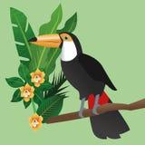 Tropical icon design Stock Photography