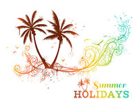 Tropical illustration. Stock Images