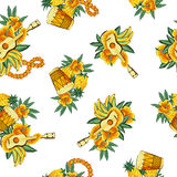 Tropical image in a pattern, Stock Photos