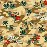 Tropical image in pattern, Stock Photography