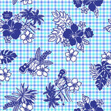 Tropical image pattern, Stock Images