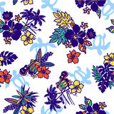 Tropical image pattern, Stock Photo