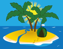 Tropical island Stock Photos
