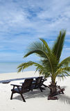 Tropical island. Relax and calm scenery of tropical island Royalty Free Stock Images