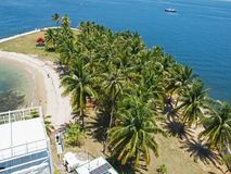 Tropical Island Royalty Free Stock Photos