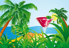 Tropical island Royalty Free Stock Photos