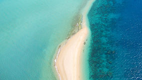 Tropical Island Aerial Stock Image