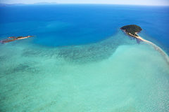 Tropical Island Aerial Stock Images