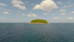 Tropical island. Aerial shot. Aerial Panoramic Of A Island. Thailand stock video footage