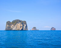 Tropical island in Andaman sea. Island in the south of Thailand Stock Photography