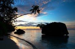 Tropical island beach. Stock Photo