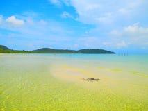 Tropical Island Beach Koh Rong, Cambodia Stock Photos