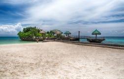 Tropical island beach landscape Stock Photo
